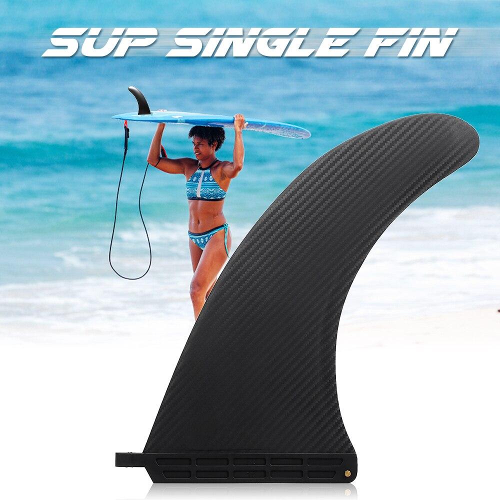 SUP Einzigen Fin Zentrale Fin Wasser Sport Nylon Longboard Surfbrett Paddleboard Fin 6,5 ''/7,5''/8'' /9 ''/10''