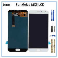 5.5 inch For MeiZu MX5 LCD Display with Touch Screen Assembly Repair Part For MeiZu MX 5 Display Screen