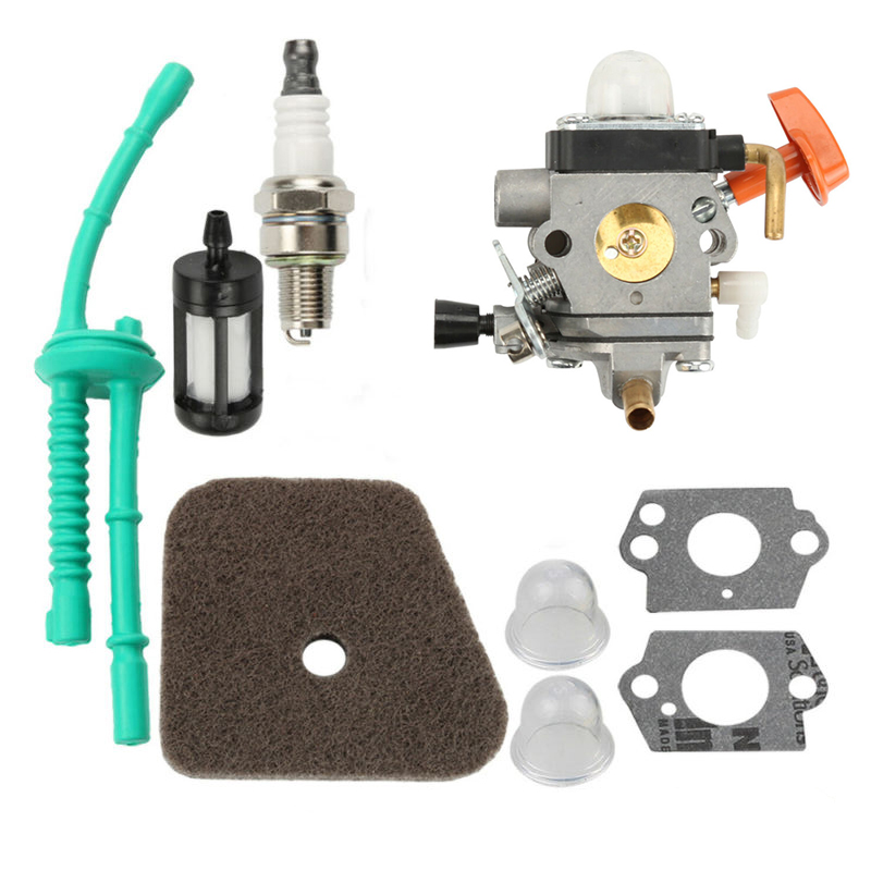 New Carburetor Kit  Parts For Stihl FS87 FS90 HL90 HL95 HL100 KM90 KM100 KM110 TrimmersNew Carburetor Kit  Parts For Stihl FS87 FS90 HL90 HL95 HL100 KM90 KM100 KM110 Trimmers