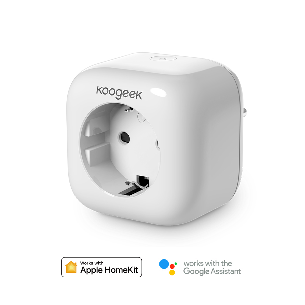 5Pcs Lot Koogeek Smart Socket Wifi Plug for HomeKit Alexa Google Assistant EU Smart Home Plug