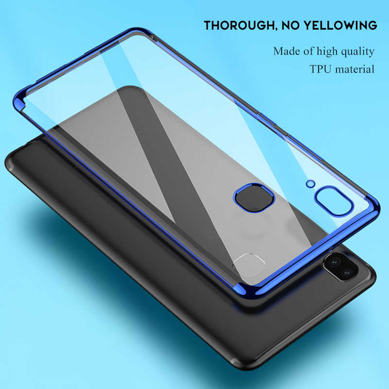 For Samsung S10 5G Case Plating TPU Phone Case For Samsung Galaxy M10 M20 M30 A70 A40 A50 A40S A30 A20 Silicon Soft Clear Cover