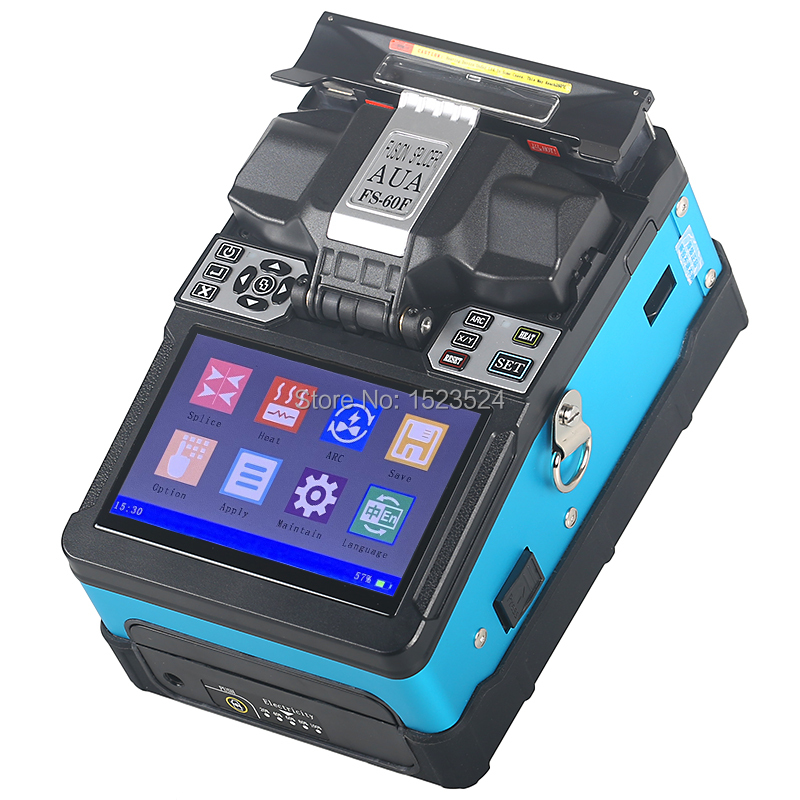 FS-60F Fully Automatic Fiber Optic Welding Splicing Machine Fiber Optic Fusion Splicer Fiber Optic Splicing MachineFS-60F Fully Automatic Fiber Optic Welding Splicing Machine Fiber Optic Fusion Splicer Fiber Optic Splicing Machine