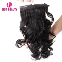 Hot Beauty Hair Loose Wave Human Hair Ponytail Brazilian Remy Hair Clip In Hair Extensions Natural Color 100g Ponytail 10 28