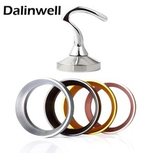58MM Stainless Steel Coffee Tamper Aluminum IDR Intelligent Dosing Ring Set For Brewing Bowl Powder Espresso Barista Tool