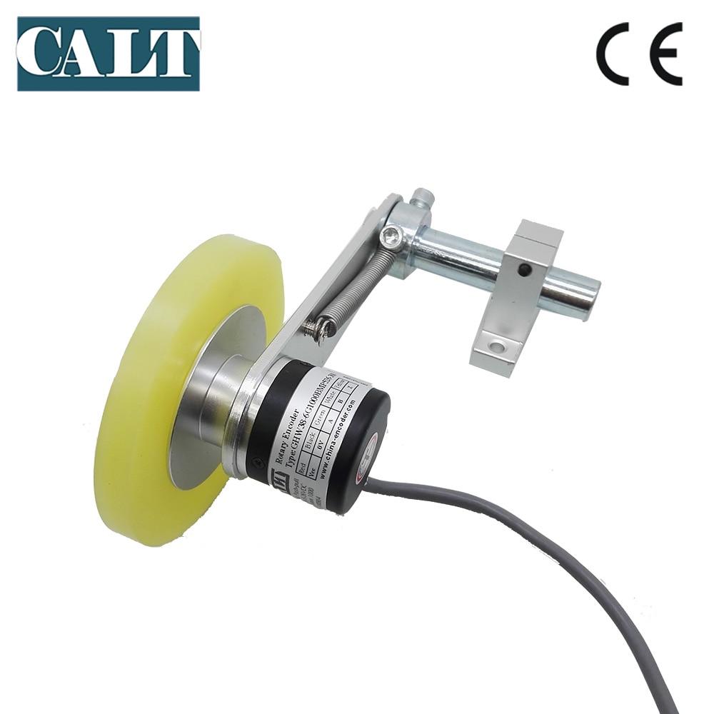 GHW38 デジタル長さ測定装置非スリップローラーホイールロータリー光学エンコーダ柔軟なバネ上取付合金ブラケット  グループ上の ツール からの カウンター の中 2