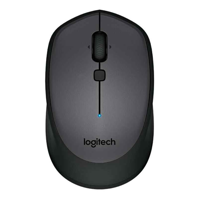 Logitech M336 Bluetooth 3.0 Laptop Mouse Wireless Mouse 1000 Dpi untuk Windows 7/8/10 Mac OS X 10.8 Chrome OS Android 5.0