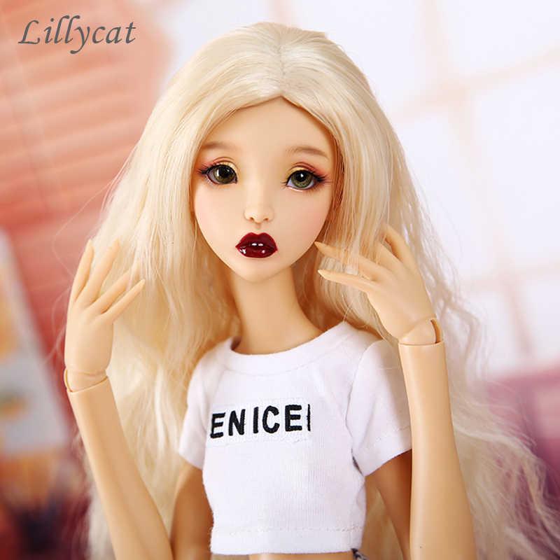 Новое поступление BJD куклы 1/4 Lillycat Ellana Luna средства ухода за кожей смолы цифры MSD голый игрушка подарок для Рождество или день рожден