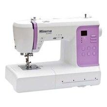 Швейная машина Minerva DecorMaster (80 швейных операций, мощность - 70 Вт, 800 об/мин, длина стежка - 4.5 мм, ширина стежка - 7 мм, Работа двойной иглой,  Быстрая и удобная замена лапок, Автоматическая заправка нити)