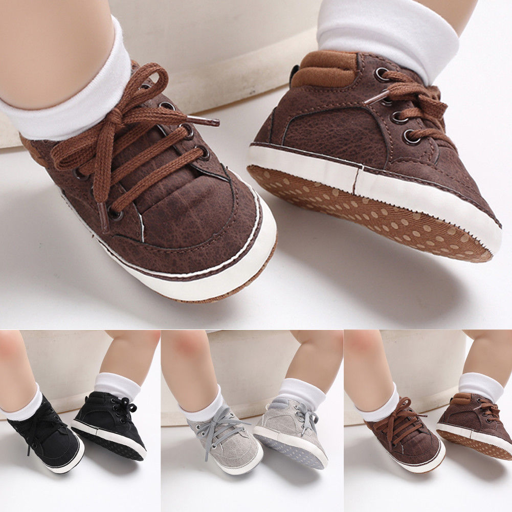 Newborn Infant Baby Kids Shoes Toddler Girl Casual Shoes Toddler Soft Sole Crib Shoes Prewalker 0-18M