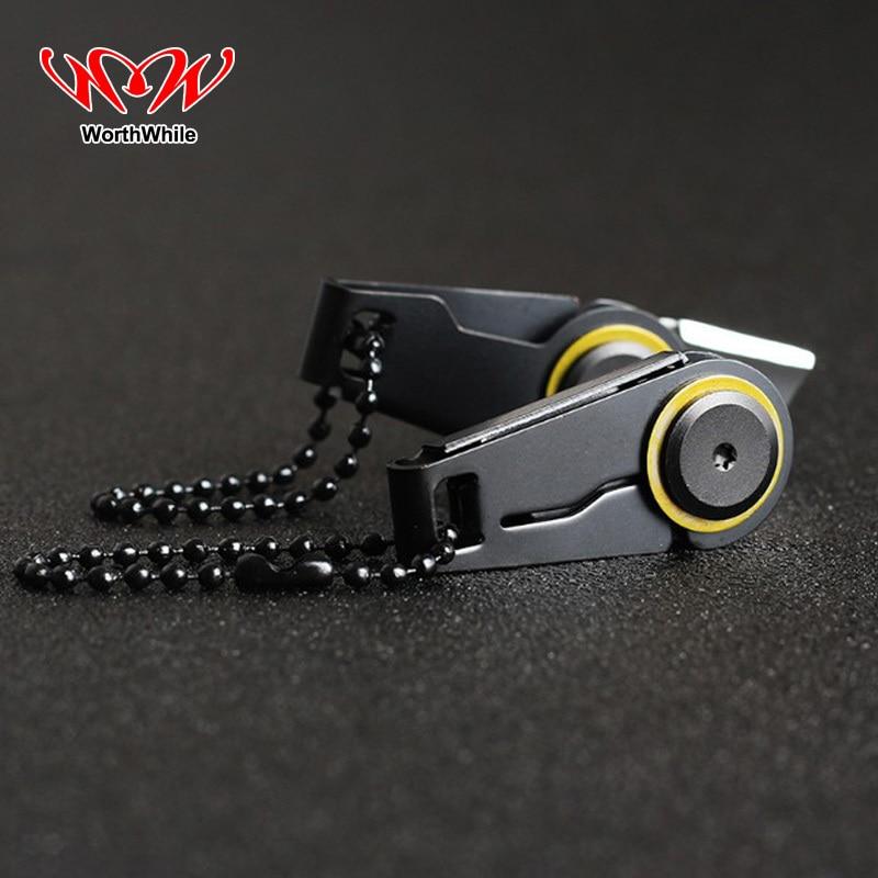 WorthWhile Creative Mini Zipper Knife Portable Outdoor Survival Emergency Tool