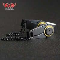 Warto kreatywny Mini zamek nóż przenośny Survival narzędzia awaryjne składany klucz edc ze stali nierdzewnej pierścień