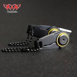 Стоящий Творческий мини-молния нож складной для активных занятий аварийный инструмент складной, из нержавеющей стали EDC кольцо для ключей