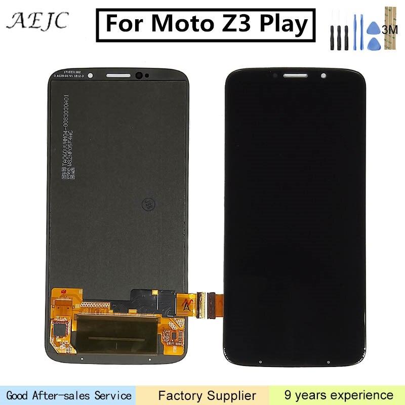 Pour Motorola Z3 Jouer XT1929 XT-1929 LCD Affichage à L'écran Tactile Digitizer Assemblée Pour Moto Z3 Jouer LCD Pour Moto Z3 jouer Affichage 6
