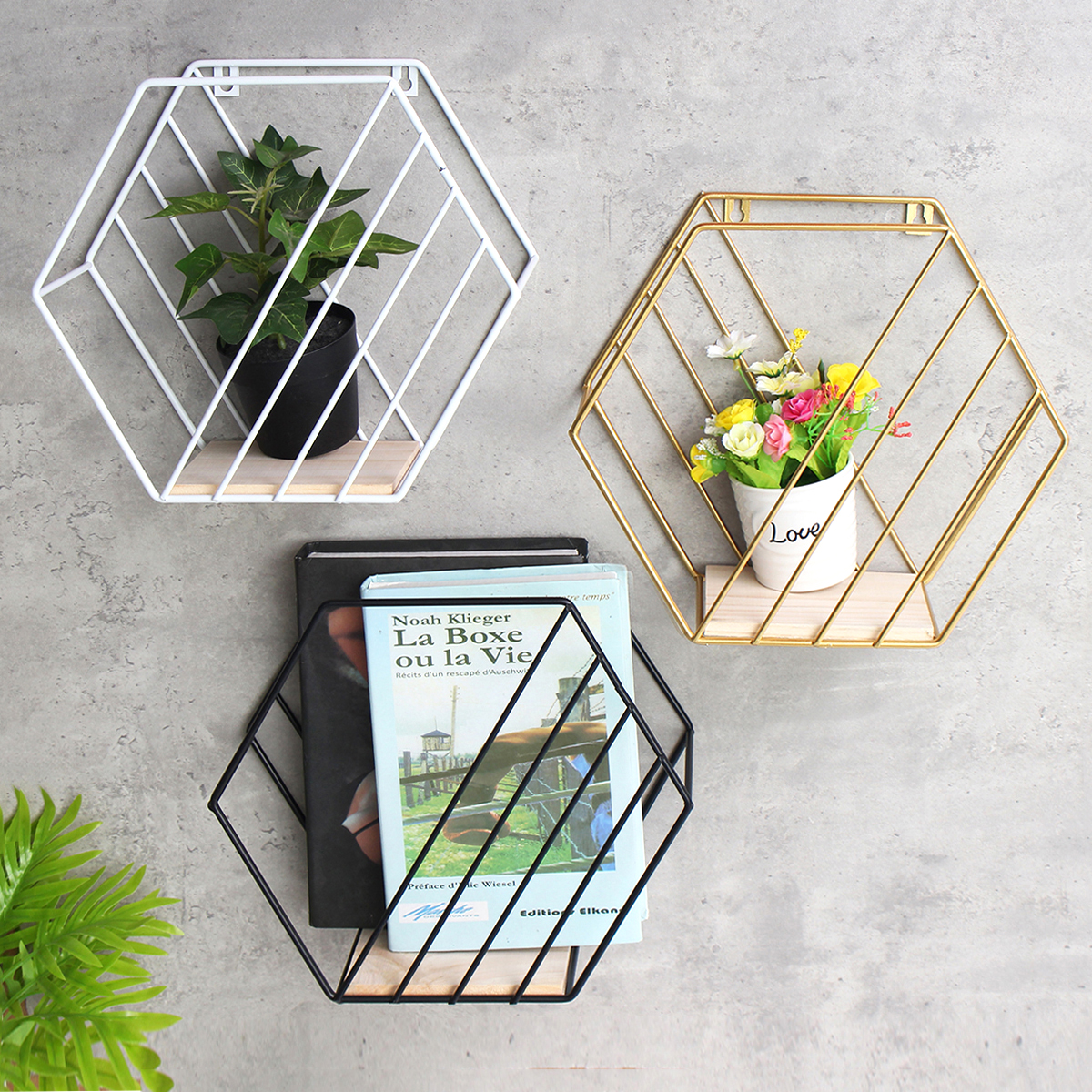 Responsible Magazine Holder Desktop Book Storage Rack Iron Triangular Bookshelf Organizing Shelf Bookcase New Magazine Organizer Magazine Organizer