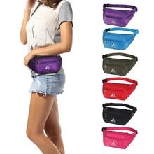 Outdoor sports Waist Bag Ultralight Water Resistant Adjustable Waist Belt Fanny Pack Cell Phone Holder Bag for Men Women 6colors