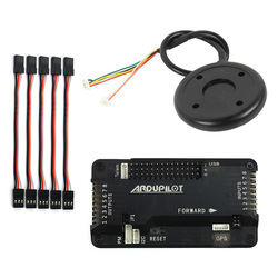 F14586-C APM2.8 APM 2.8 RC Multicopter Flight Controller Board with Case 6M GPS Compass for DIY FPV RC Drone Multirotor