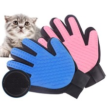 Перчатки для кошек, кошек, уход за домашними животными, собачья шерсть, щетка, гребень, перчатки для домашних собак, чистка пальцев, массажные перчатки для животных