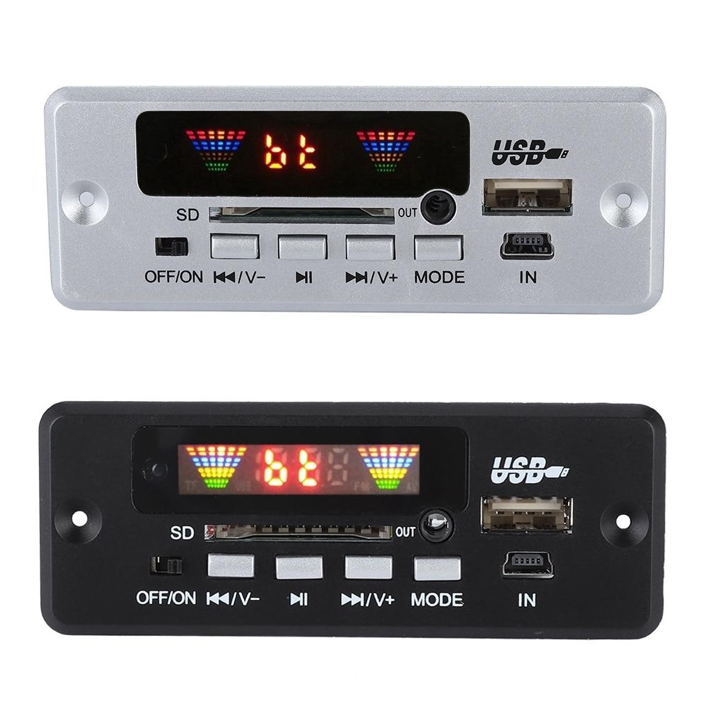Zielsetzung 02ebt-dx Auto Fahrzeug Hände-freies Anruf Decoder Board Bluetooth Mit Fernbedienung FüR Schnellen Versand Digital-analog-wandler