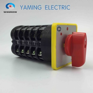 Image 1 - rotary selector switch 3 position switch main switch electric change over switch 5 phase LW5 16/5