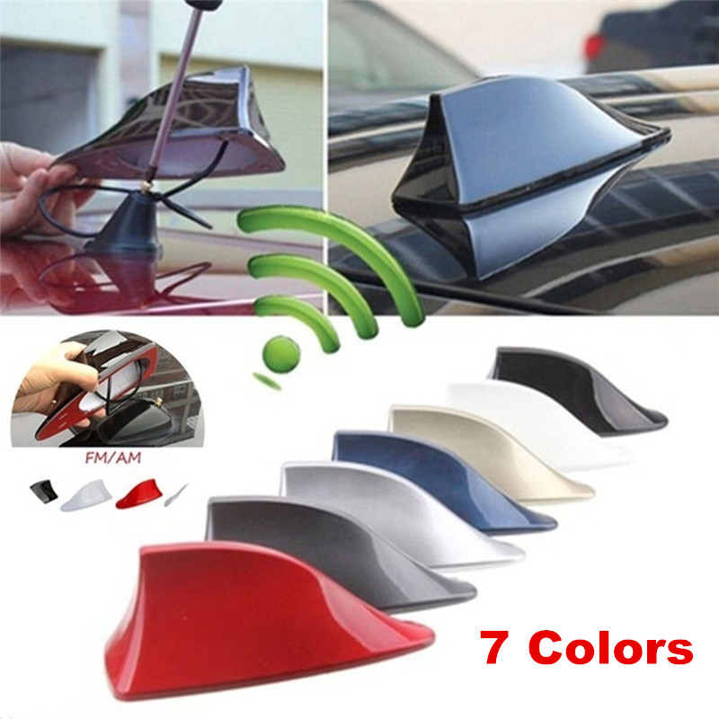 Car Shark Fin Antenna Auto Radio Signal Aerials Roof Antennas For BMW/Honda/Toyota/Hyundai/VW/Kia/Nissan Car Styling Accessories