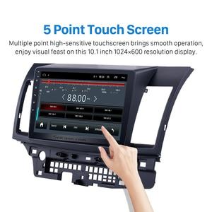 Image 3 - Seicane راديو السيارة 10.1 بوصة ، Android 9.1 ، Bluetooth ، Wifi ، 3G ، مشغل الوسائط المتعددة ، 2 Din ، لميتسوبيشي لانسر ex 2008 ، 2009 ، 2010 2015