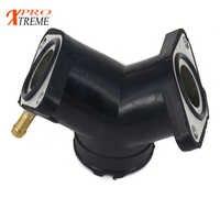 Carburateur d'admission Carb Joint d'air Interface de démarrage adaptateur connecteur tuyau collecteur pour Yamaha Virago XV 125 250 XV125 XV250 88-11