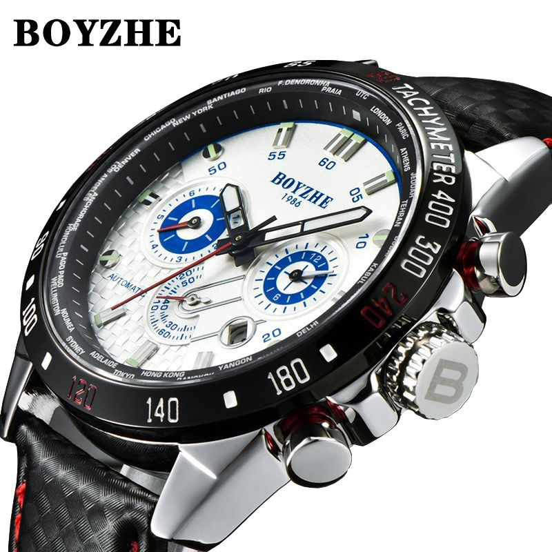 BINSSAW 2019 Watches Men Luxury Top Brand New Fashion Men s Big Designer Automatic Mechanical Male