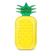 Inflatable Pineapple Giant Pool Float Toys Swimming Ring Summer Swimming Pool Inflatable Water Fun Pool Toys Swim Seat Boat