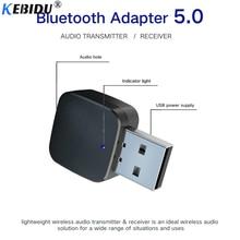 kebidu 2 in 1 Mini 3.5mm Stereo Bluetooth 5.0 Audio Receiver