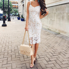MUXU white lace bodycon dress backless vestidos women clothing kleider fashion clothes sukienka suspender streetwear