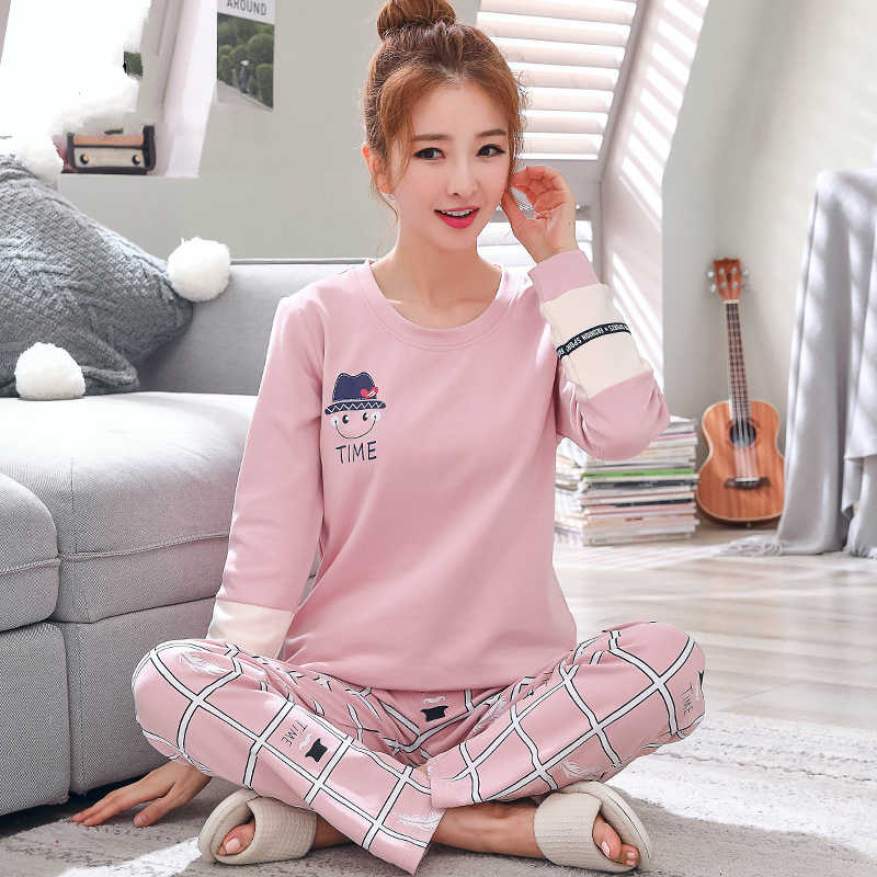 85a9734f786d Detail Feedback Questions about 2019 Sleep Lounge Pajama Long Sleeve ...