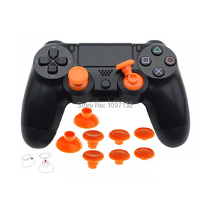 Image 1 - 8pcs Enhanced Durable Removable Thumbsticks Analog Stick Joystick Caps Covers Swap Grips for Sony PS4 SLIM PS4 Pro Controller