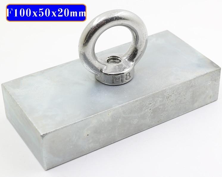 Неодимовый магнит сильный редкоземельный неодимовый Неодимовый Магнит N50 Магниты f100мм X 50 мм x20мм поисковый магнит Магнитные материалы      АлиЭкспресс