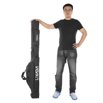 Lixada 100/130/150cm Fishing Bag Oxford Cloth Folding Fishing Rod Reel Bag Fishing Tackle Storage Bags Travel Carry Case Pesca - DISCOUNT ITEM  29% OFF All Category