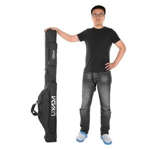 Image 1 - Lixada 100/130/150cm balıkçı çantası Oxford bez katlanır olta makara çanta olta takımı saklama torbaları seyahat taşıma çantası Pesca