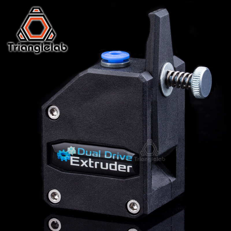 Trianglelab Bowden extrusora BMG extrusora clonado Btech Dual extrusora para 3d impresora de alto rendimiento para 3D impresora MK8