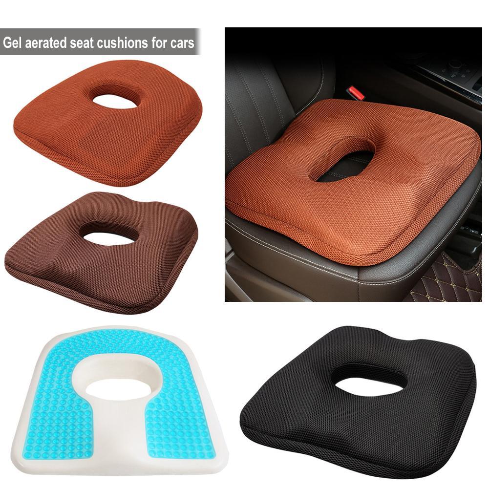 Seat-Cushion Driving Enhanced Orthopedic-Gel Summer Non-Slip for Memory-Foam Cool
