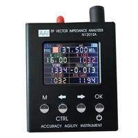 new English version N1201SA 140 MHz 2.7GHz UV RF Vector Impedance ANT SWR Antenna Analyzer Meter Tester 140 MHz 2.7GHz