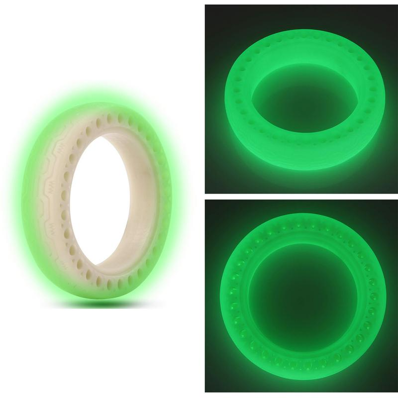 Fluorescent Tire 8.5 Inch Honeycomb Front Back Tire For Xiaomi Mijia M365 Electric Scooter