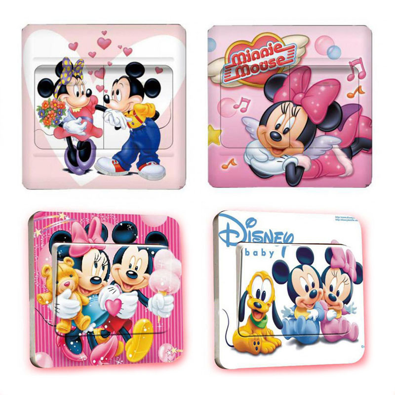 Aliexpress.com: Comprar 4 piezas Mickey Minnie Mouse ...