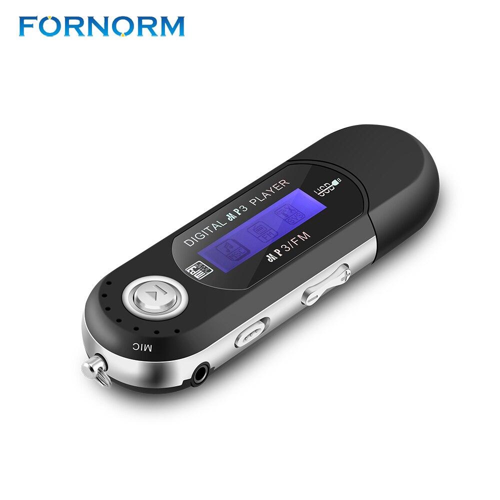 Treu Fornorm Tragbare Usb Digital Mp3 Player Lcd Bildschirm Sport Verlustfreie Mp3 Player Unterstützung 32 Gb Tf Karte Fm Radio Besten Verkauf