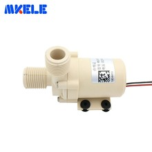 цена на DC24V 9M Brushless Water Pump Silent High Temperature Solar Electric Gas Water Heater Circulating Booster Pump