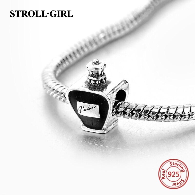 Strollgirl Parfüm Şüşə Gümüşü Yaraşıqlara uyğun orijinal - Moda zərgərlik - Fotoqrafiya 3