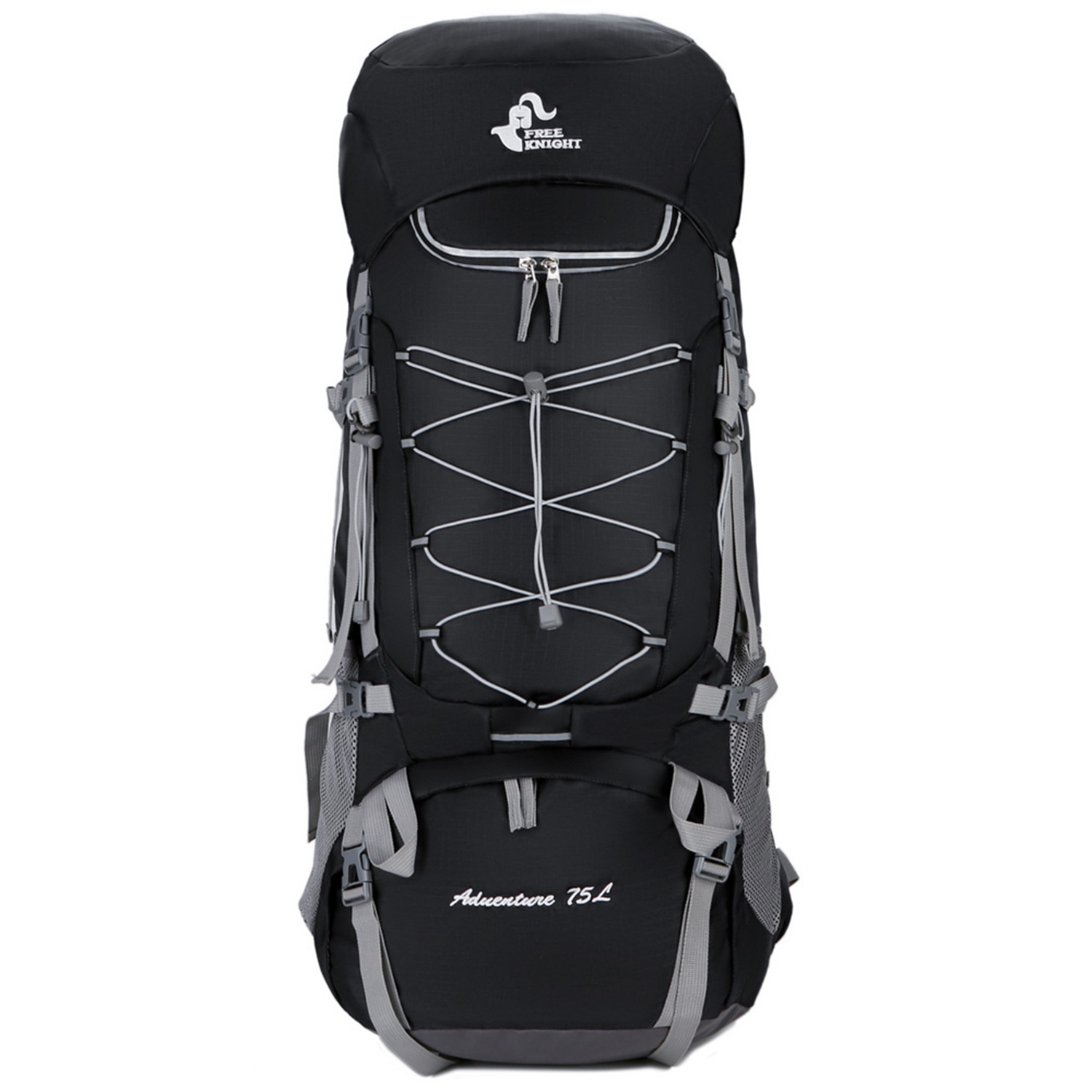 ABDB-Free Knight 75L Water-Resistant Hiking Backpack Lightweight Camping Pack Travel Mountaineering Backpacking Trekking RucksABDB-Free Knight 75L Water-Resistant Hiking Backpack Lightweight Camping Pack Travel Mountaineering Backpacking Trekking Rucks