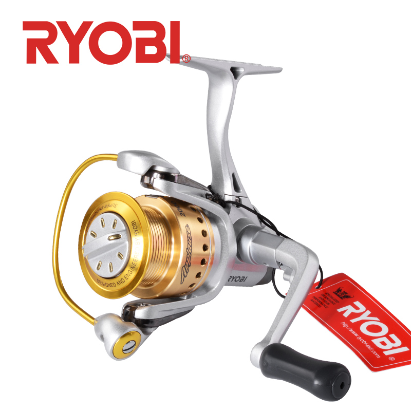 RYOBI Applause Spinning Fishing Reel 1000 2000 3000 6+1BB Gear Ratio5.1:1/5.0:1 Max Drag 2.5~5.0kg Metal Body fishing reelsRYOBI Applause Spinning Fishing Reel 1000 2000 3000 6+1BB Gear Ratio5.1:1/5.0:1 Max Drag 2.5~5.0kg Metal Body fishing reels