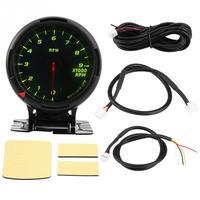 12V 64 Color Backlight Tachometer Gauge Kit Odometer Speedometer 09000RPM for Auto Racer Car Universal New Car gauge Car meter