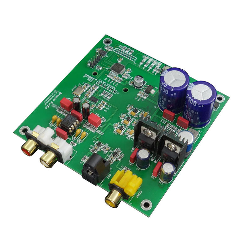 Dac Lovely Es9038q2m I2s Dsd Fiber Coaxial Input Decoder Board Dac Audio Finished Board