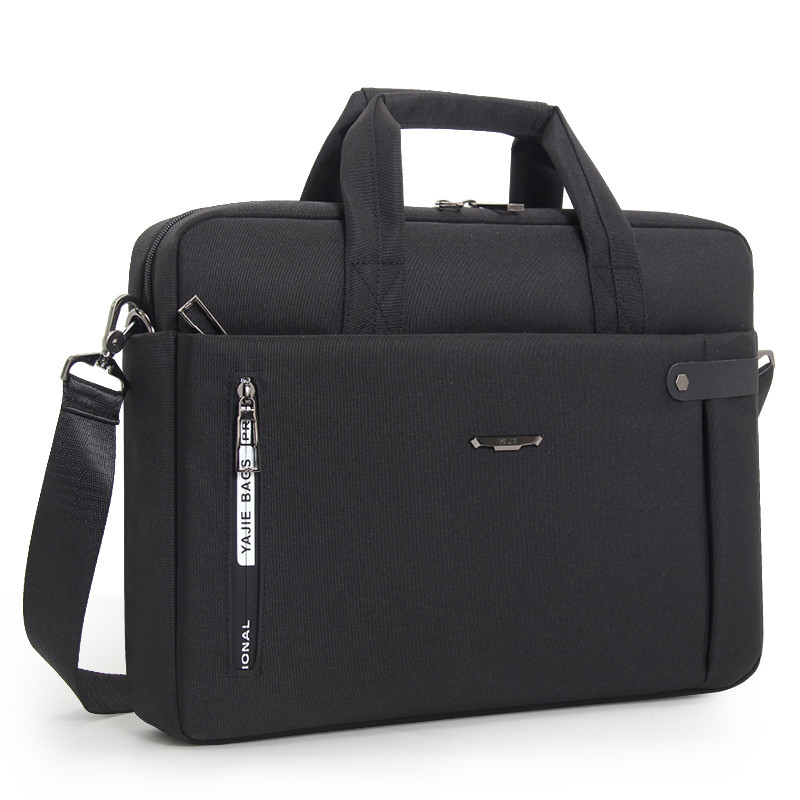 OYIXINGER Briefcase Laptop-Bags Lawyer Single-Shoulder-Bag 15inch Waterproof Men's Portable