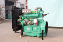 High quality weifang Ricardo 56Kw diesel engine ZH4105ZD for 50kw generator set