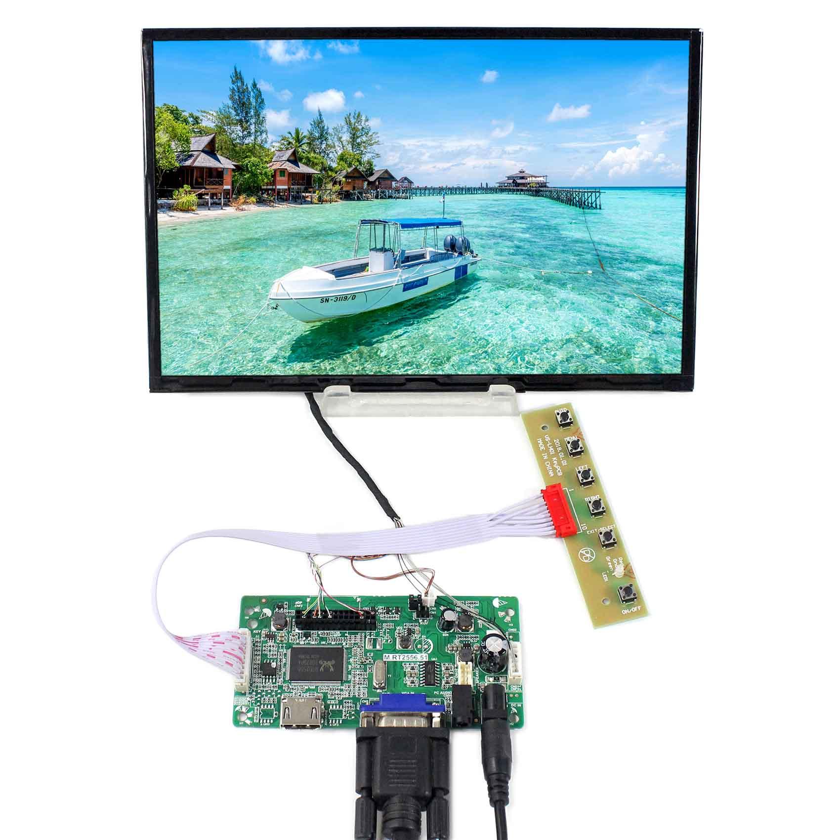 10.1 lcd  B101UAN01.C 10.1inch 1920X1200 LCD Screen  with HDMI VGA LCD Controller Board VS-RTD2556HV-V310.1 lcd  B101UAN01.C 10.1inch 1920X1200 LCD Screen  with HDMI VGA LCD Controller Board VS-RTD2556HV-V3